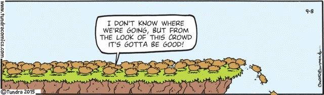 tundra comic peer pressure