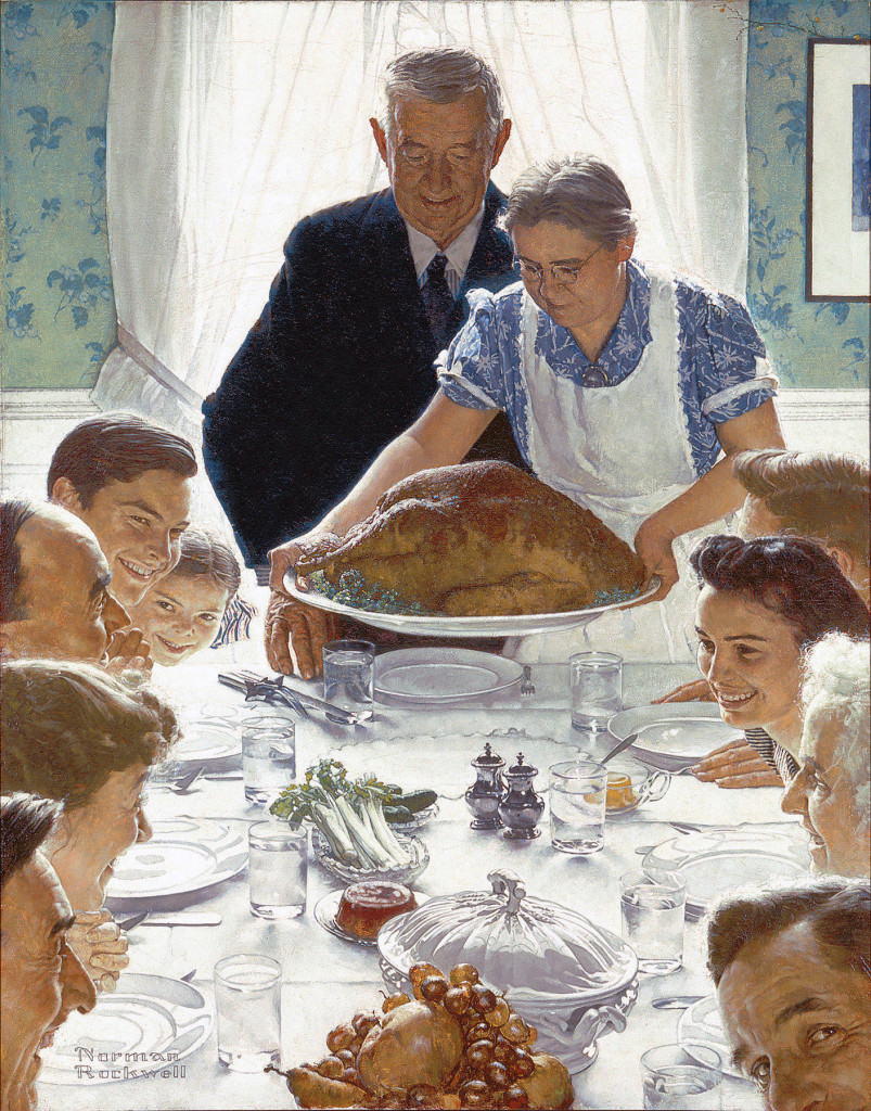 rockwell thanksgiving 1