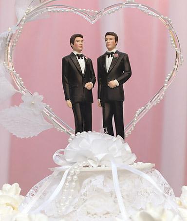 same sex cake topper