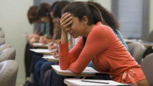college student depressed